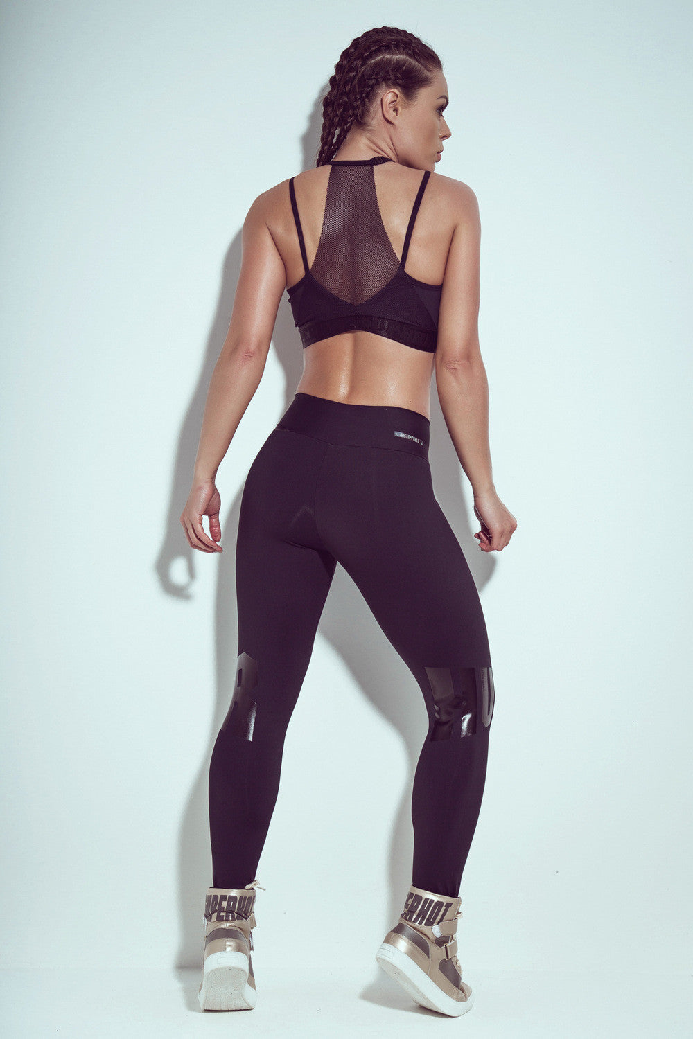 LEGGING SUPERHOT HUSTLE HARDER - BLACK - SUPERHOT - FitZee
