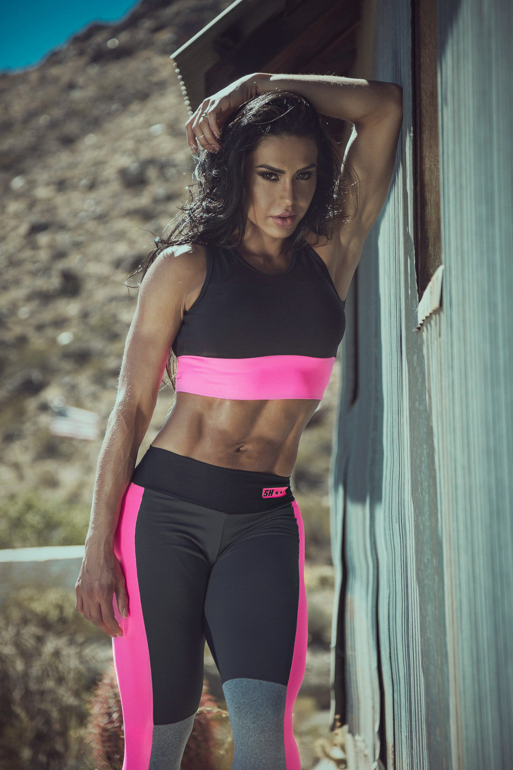TOP SUPERHOT ATHLETE - BLACK - SUPERHOT - FitZee