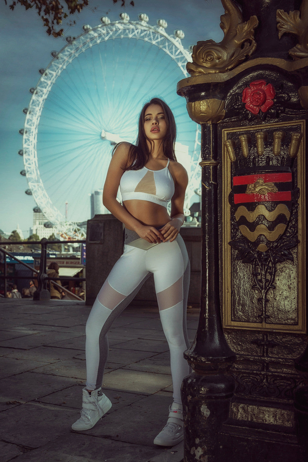 LEGGING SUPERHOT PANTS EMOTION - WHITE
