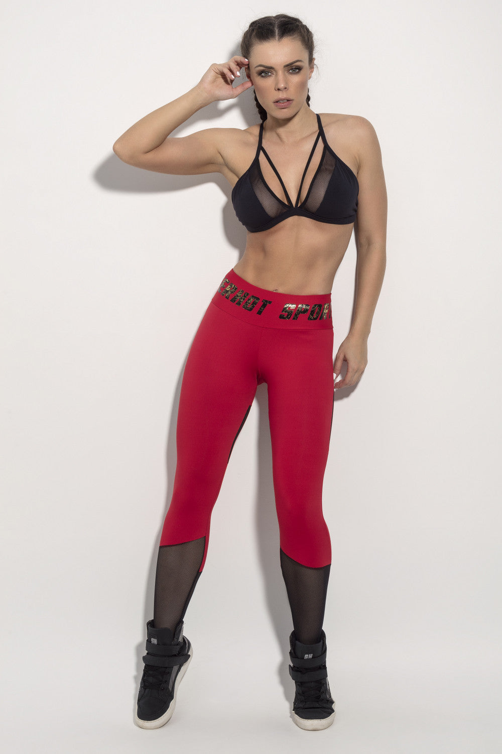 LEGGING SUPERHOT SPORTS - RED
