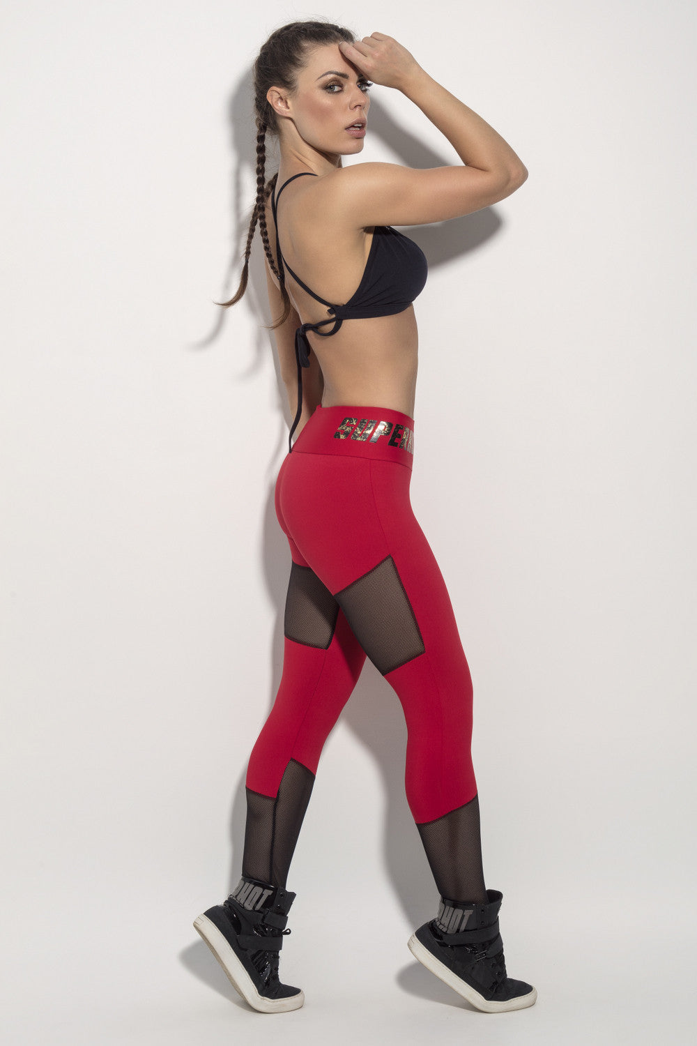 LEGGING SUPERHOT SPORTS - RED - SUPERHOT - FitZee