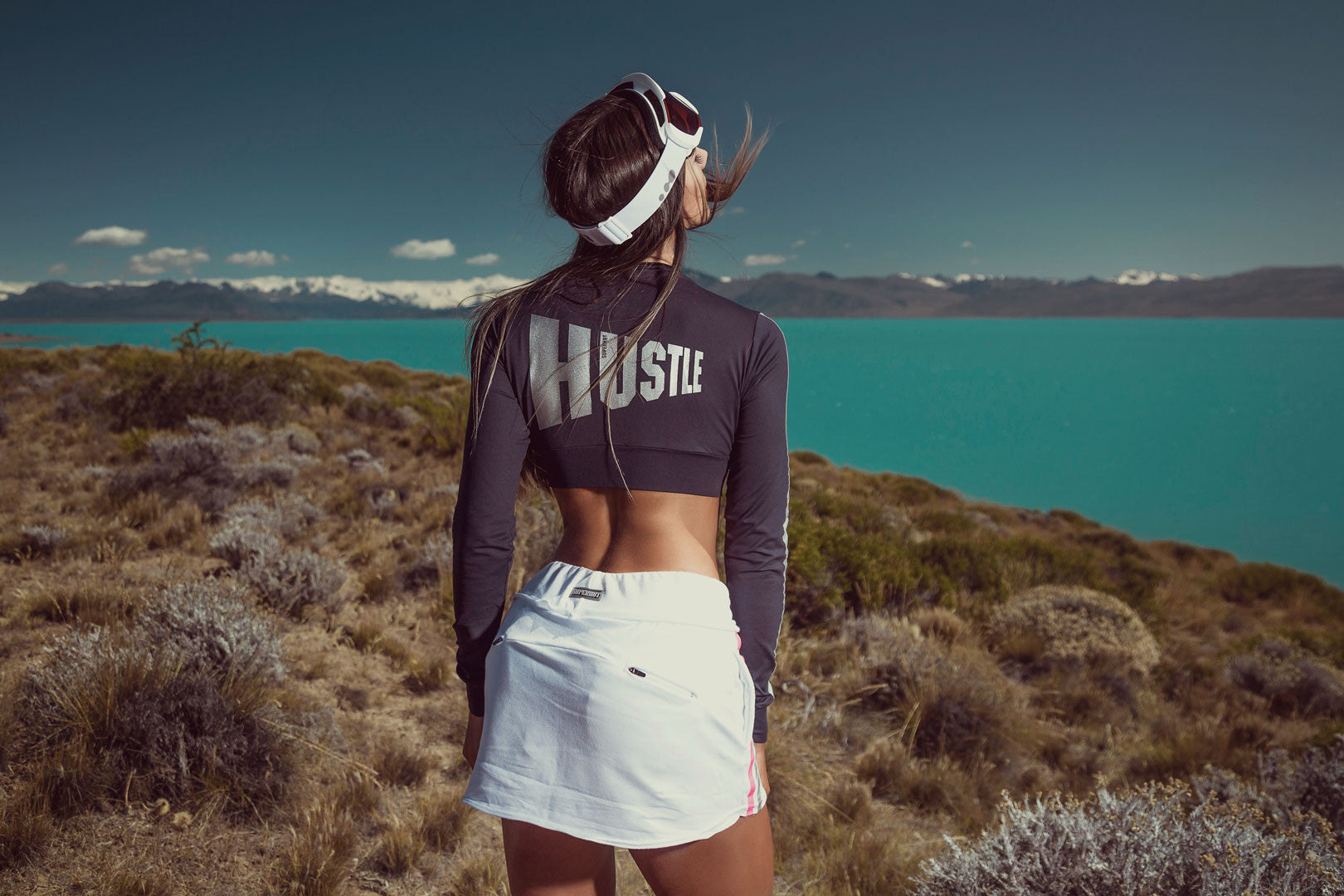 SKIRT REFLECTIVE WHITE - SUPERHOT - FitZee