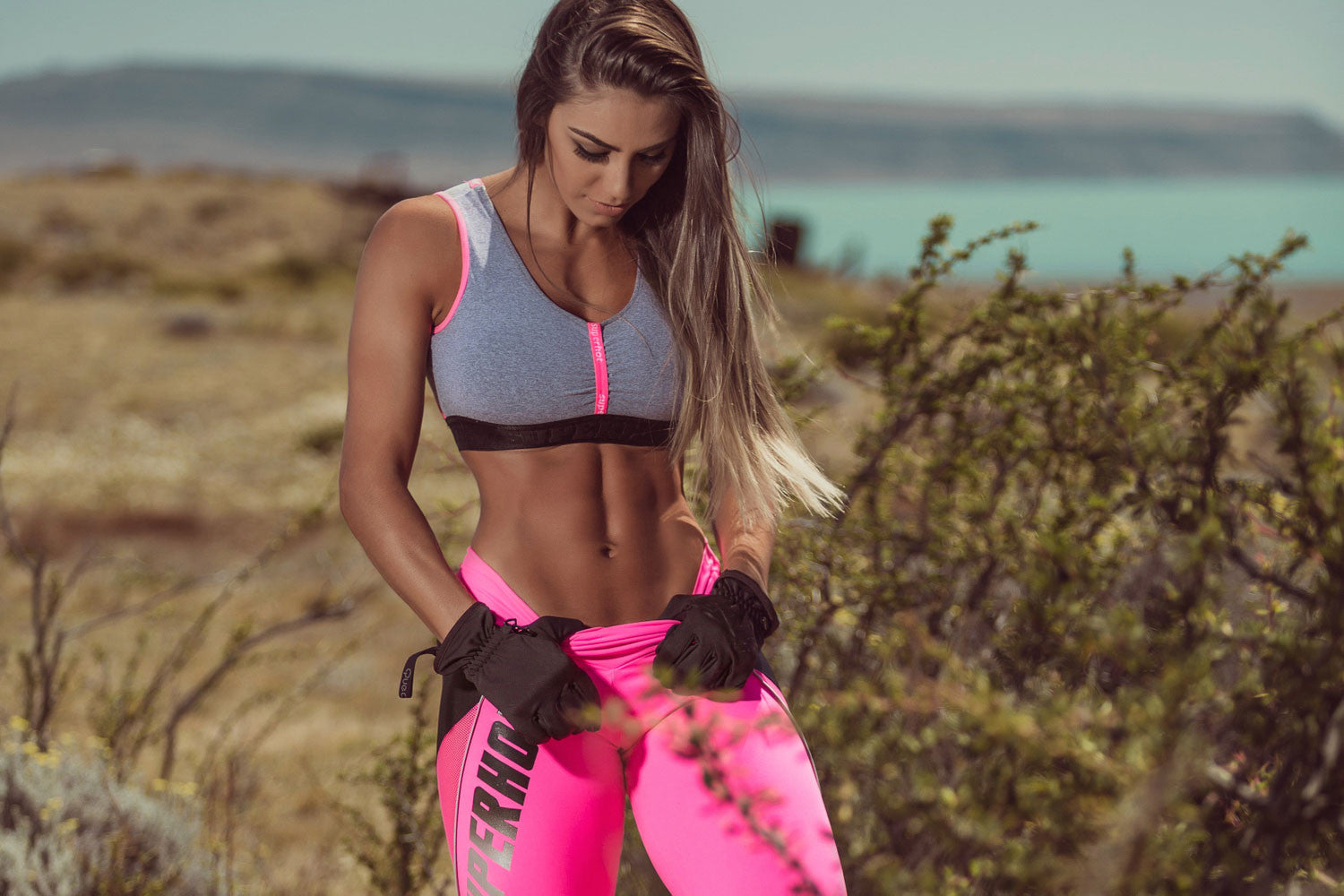 Legging PINK FEVER - SUPERHOT - FitZee