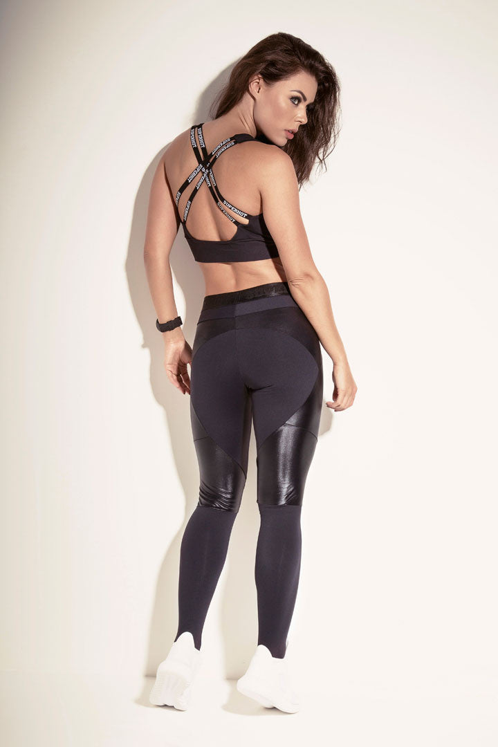 Legging SUPREME BLACK - SUPERHOT - FitZee
