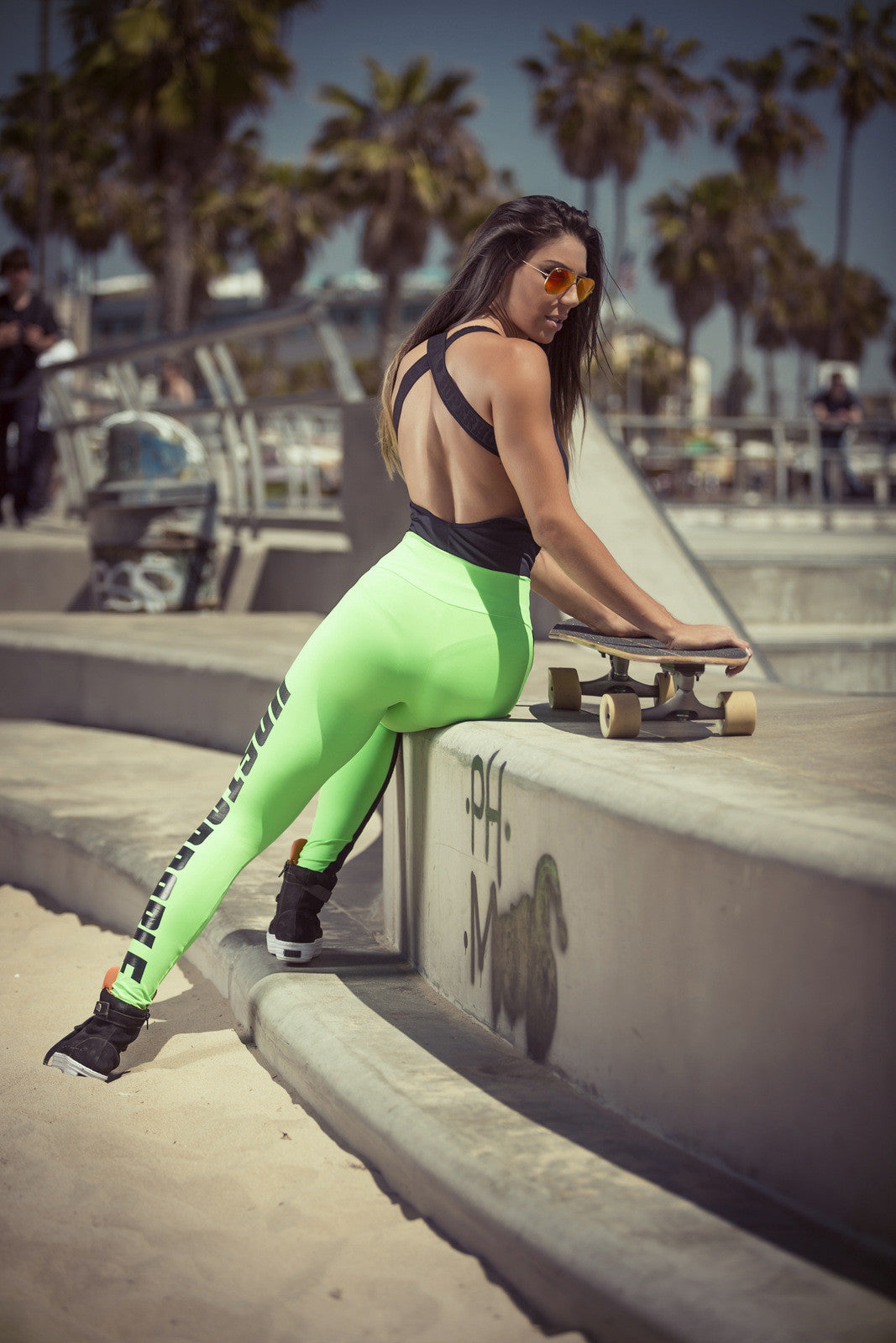 Legging Unstoppable Green - SUPERHOT - FitZee