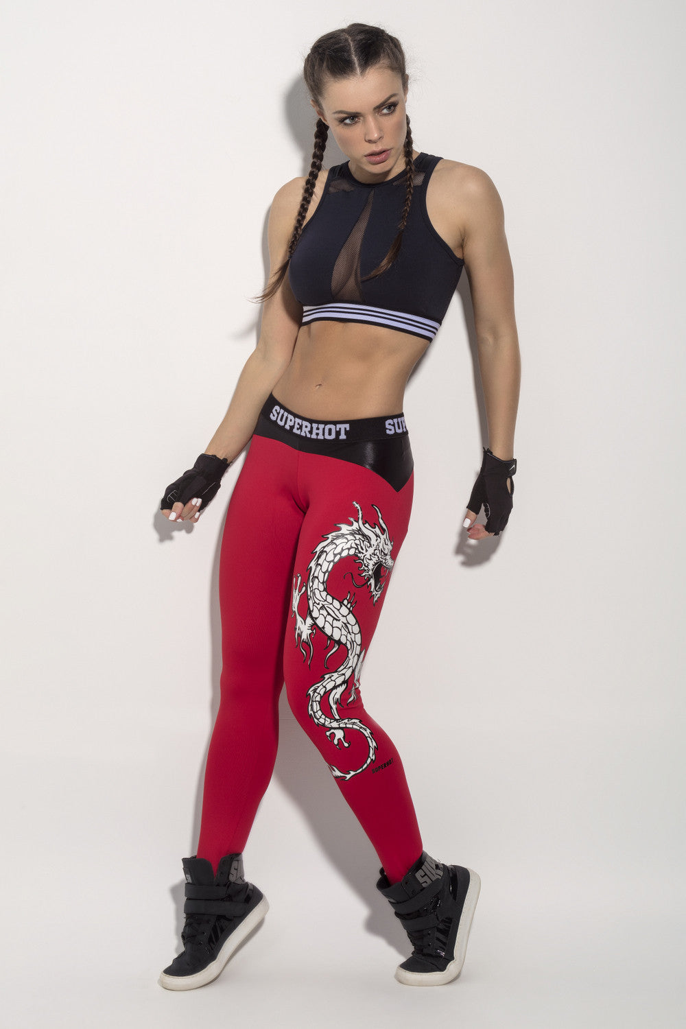 LEGGING DRAGON STRENGTH - RED