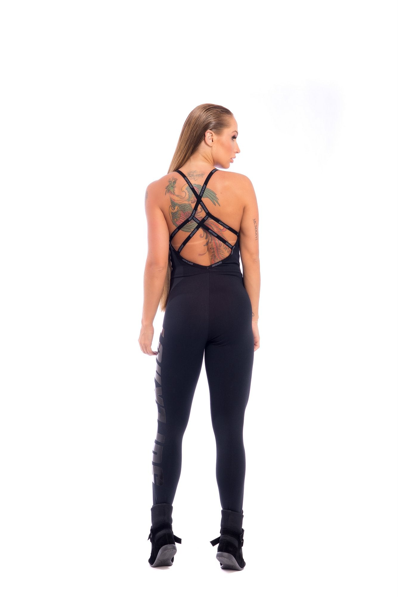 Meshed Jumpsuit - PRE ORDER ONLY - SUPERHOT - FitZee