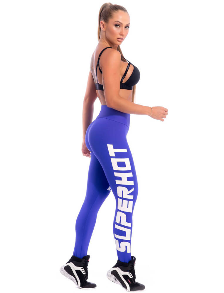 Make Your Mark Legging - Blue - SUPERHOT - FitZee