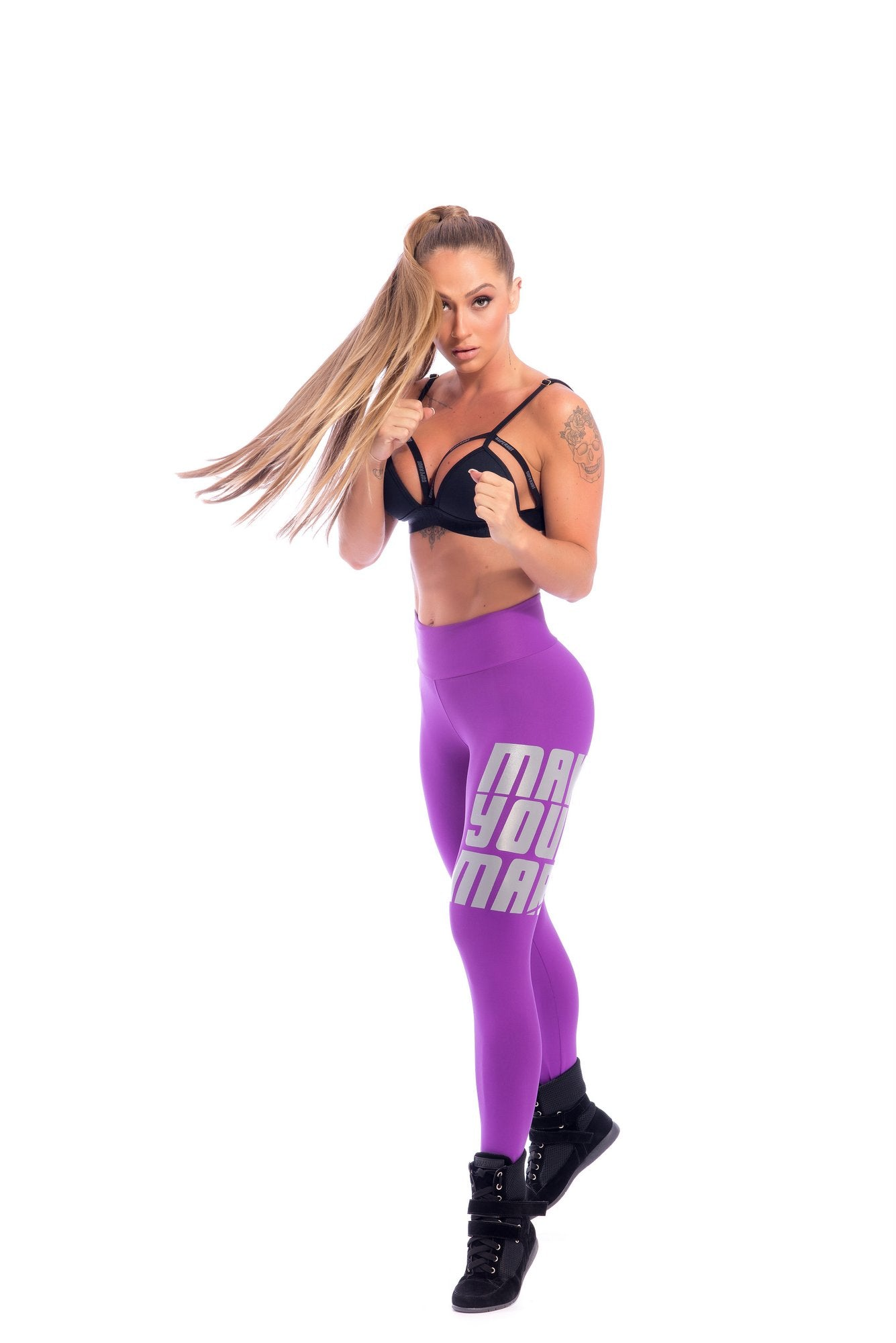 Make Your Mark Legging - Purple - SUPERHOT - FitZee