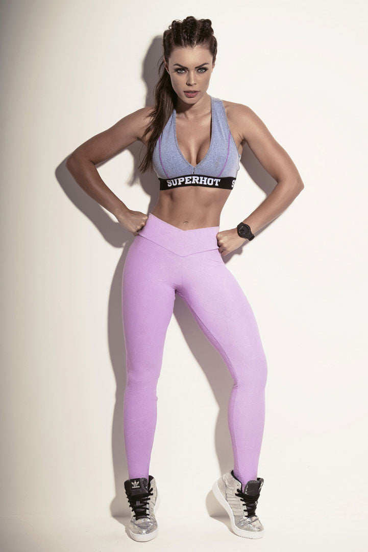Legging SUPERBODY LILAC