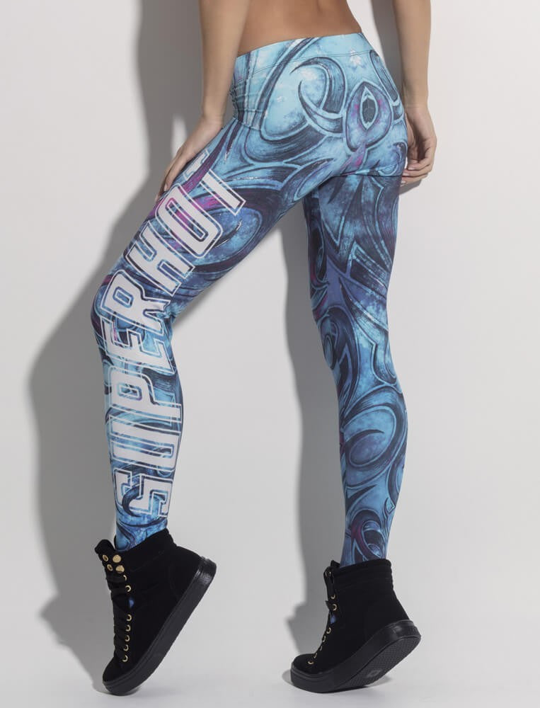LEGGING SUPERHOT TRIBAL - SUPERHOT - FitZee