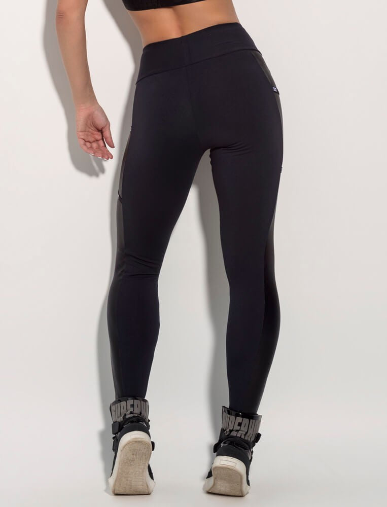 SUPERHOT ESSENTIALS GODDESS BLACK LEGGING - SUPERHOT - FitZee