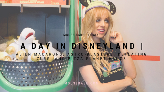 Alien Macarons, Astro-Blasters, Defeating Zurg, and Pizza Planet Hangs | A Day in Disneyland