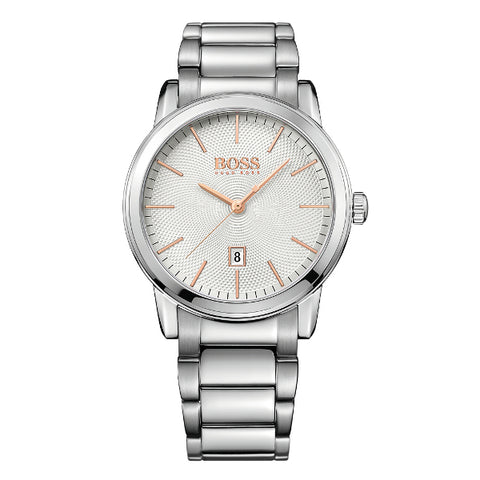 HUGO BOSS Men's Classic Date Bracelet Strap Watch 1513401
