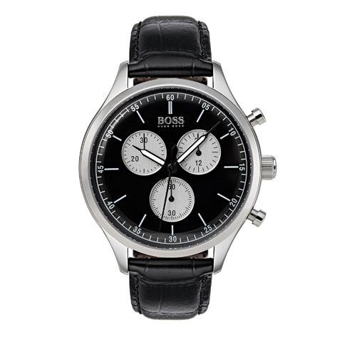 Hugo Boss Mens Companion Chronograph Strap Watch 1513543