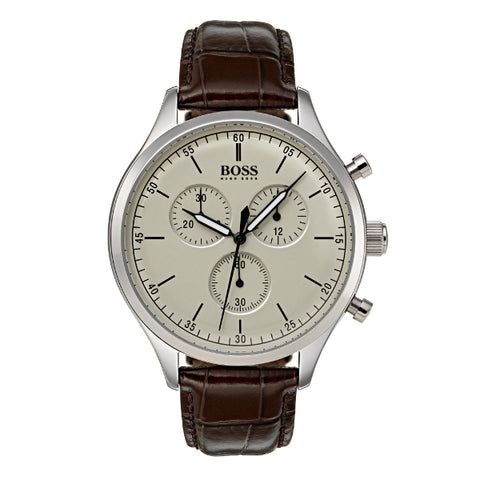 Hugo Boss Mens Companion Chronograph Watch 1513544