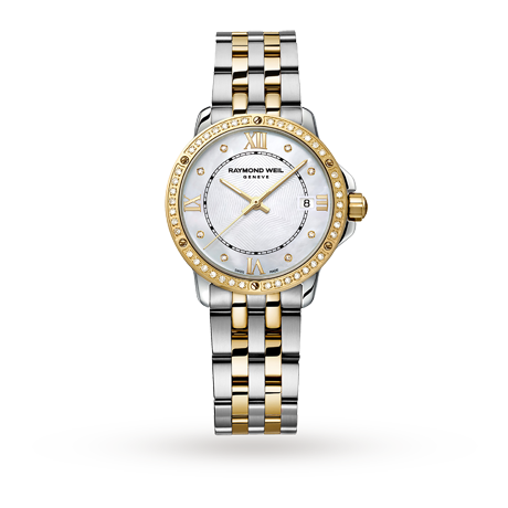 RAYMOND WEIL TANGO DIAMOND BEZEL LADIES WATCH-Watch-Design Centre Jewellery