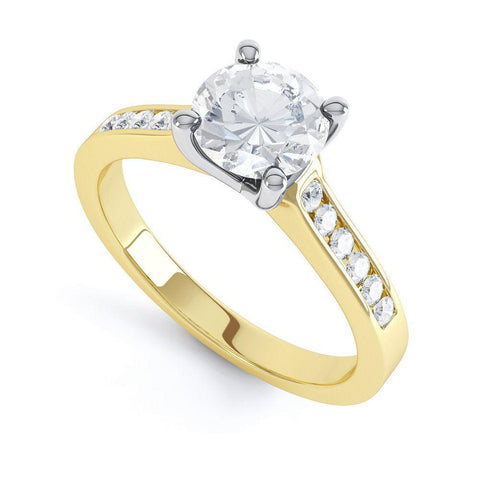 Molly - 31740M - G Finger Size, 18ct-yellow-gold Metal, 0.3 Ct Diamond (undefined)