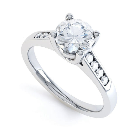 RUBY - 32452M-Diamond Engagement Ring-Design Centre Jewellery