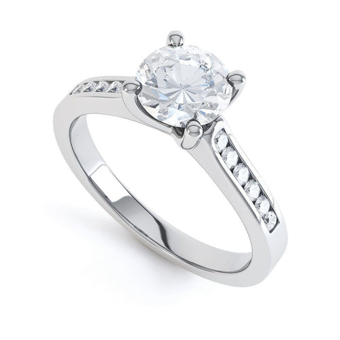 ZOE - 32457RM-Diamond Engagement Ring-Design Centre Jewellery