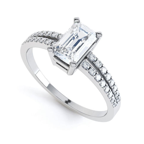 DAISY - 32464RM-Diamond Engagement Ring-Design Centre Jewellery
