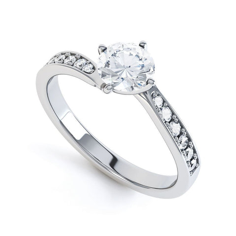 ALICE - 32532M-Diamond Engagement Ring-Design Centre Jewellery