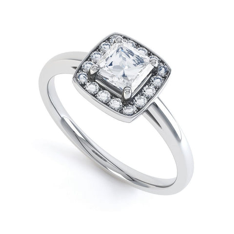 THEA - 3316M-Diamond Engagement Ring-Design Centre Jewellery