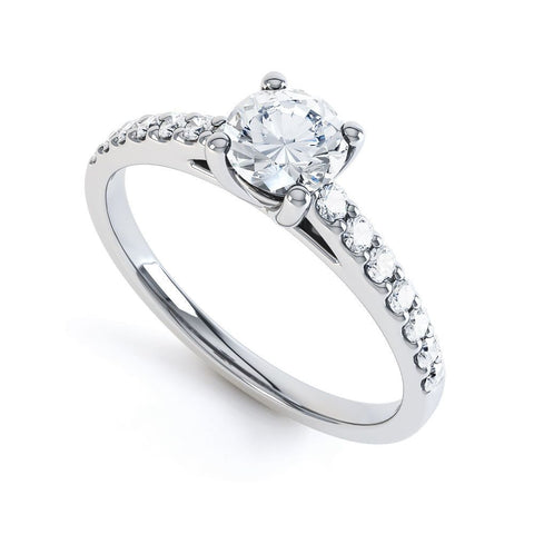SCARLETTE - 33376M-Diamond Engagement Ring-Design Centre Jewellery