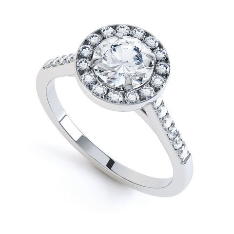POPPY - 33572M-Diamond Engagement Ring-Design Centre Jewellery
