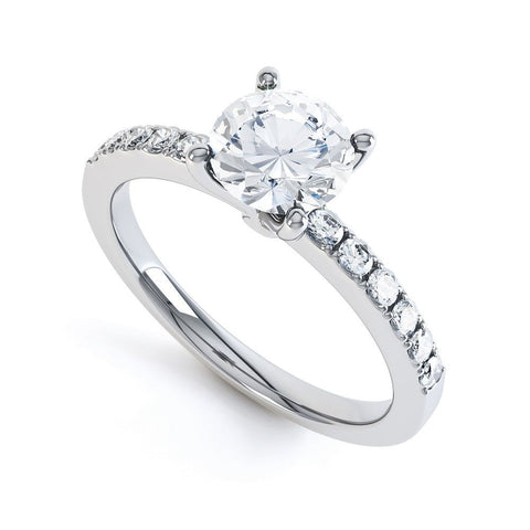 HANNAH - 33665M-Diamond Engagement Ring-Design Centre Jewellery