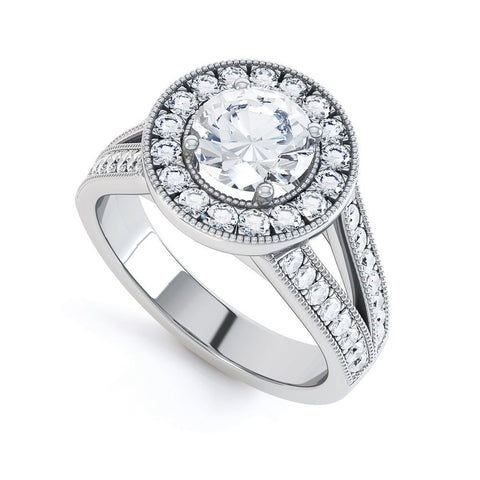 ANGELINA - 35153M-Diamond Engagement Ring-Design Centre Jewellery