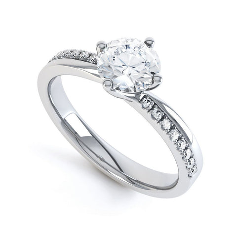 IMOGEN - 35239M-Diamond Engagement Ring-Design Centre Jewellery