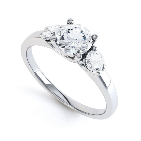 ISOBELLE - 37583M-Diamond Engagement Ring-Design Centre Jewellery
