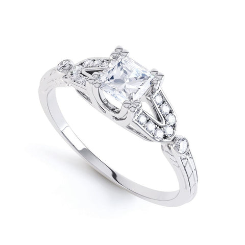 RAVEN - 39744RM-Diamond Engagement Ring-Design Centre Jewellery