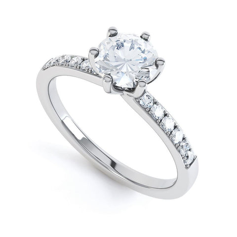 TEEGAN - 40172R1M-Diamond Engagement Ring-Design Centre Jewellery