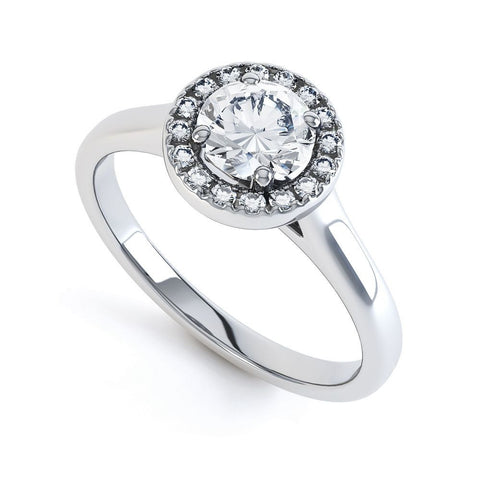 CASSIE - 41921M-Diamond Engagement Ring-Design Centre Jewellery