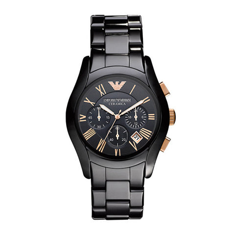 BLACK CERAMIC ARMANI WATCH - AR1410