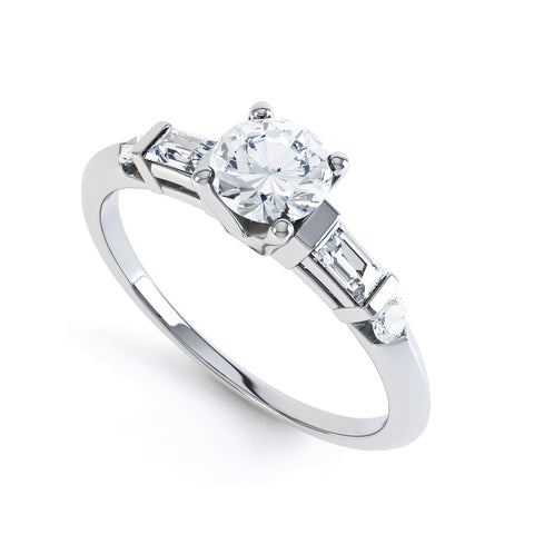 MARIE - DCJ002M-Diamond Engagement Ring-Design Centre Jewellery