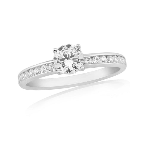 ZZ NEW 62203-Diamond Engagement Ring-Design Centre Jewellery