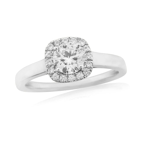 ZZ-New 57766R001-Diamond Engagement Ring-Design Centre Jewellery