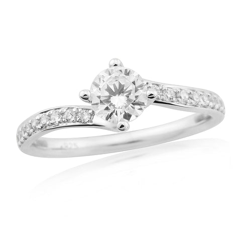 ZZ new 62201-6mm-Diamond Engagement Ring-Design Centre Jewellery