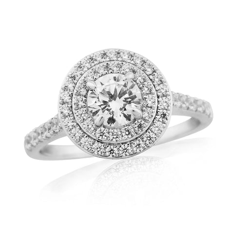 ZZ NEW 56919R011-Diamond Engagement Ring-Design Centre Jewellery