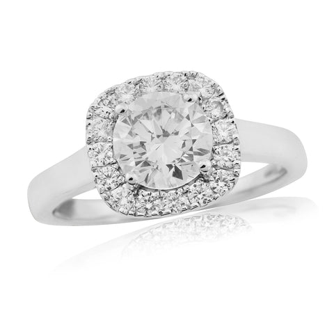 ZZ new 57766R006-Diamond Engagement Ring-Design Centre Jewellery