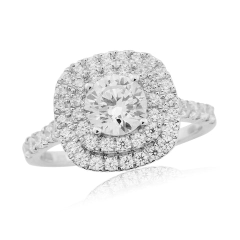 ZZ NEW 58021R003-Diamond Engagement Ring-Design Centre Jewellery