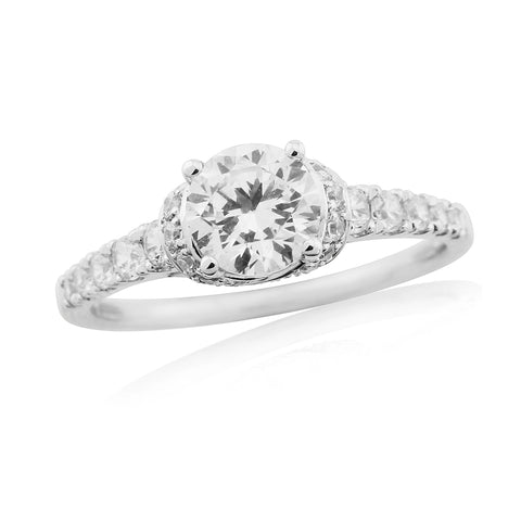 ZZ new 62616-6mm-Diamond Engagement Ring-Design Centre Jewellery