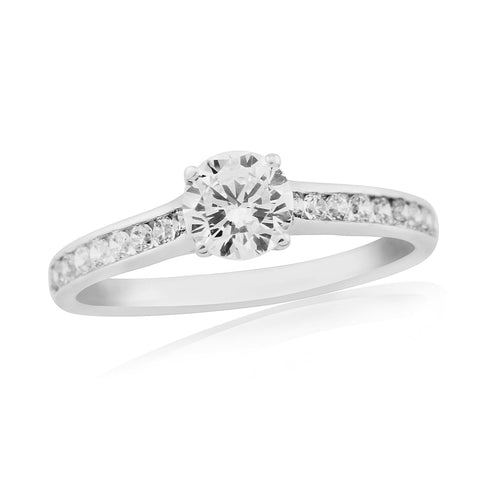 ZZ new 62207-6mm-Diamond Engagement Ring-Design Centre Jewellery