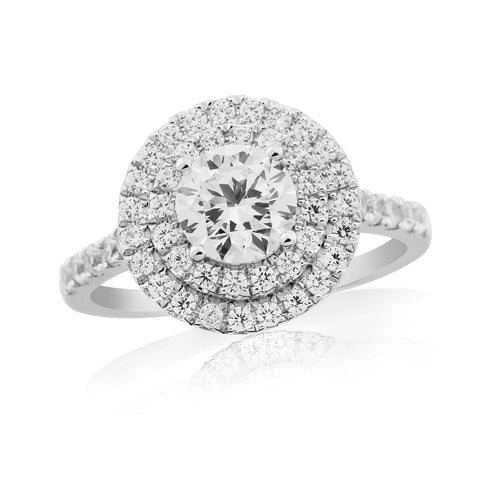 ZZ new 62614R001-Diamond Engagement Ring-Design Centre Jewellery