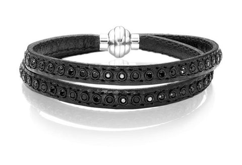 AreZZo Leather Bracelet By Sif Jakobs