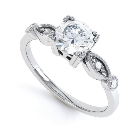 STEPHANIE - DCJ005M-Diamond Engagement Ring-Design Centre Jewellery