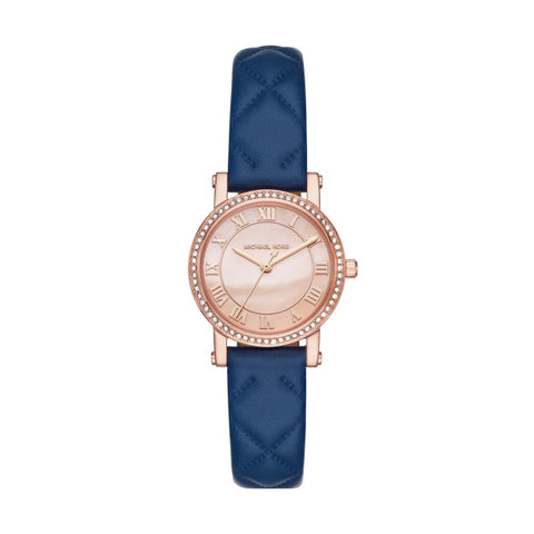 04694476fd2f Michael KorsLadies Petite Norie Rose Gold-plated Strap Watch MK2696
